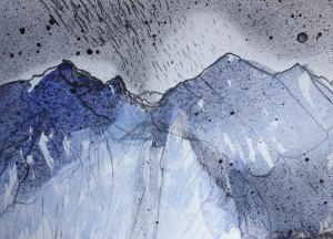 SGURR DEARGH by Elizabetha Fox - Original Art - Watercolour Painting - Mountain Landscape - Isle of Skye - Fine Art - ElizabethAFox