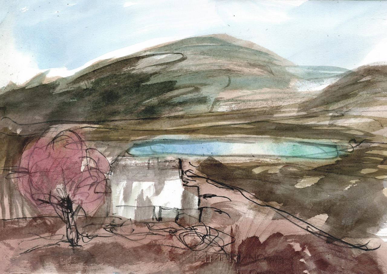 ROWAN TREE BOTHY – Landscape Watercolour